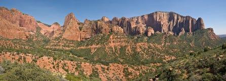 Canyon di Kolob Immagini Stock Libere da Diritti