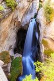 Canyon di Maligne Fotografia Stock Libera da Diritti