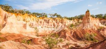 Canyon di Marafa - Kenya Immagine Stock