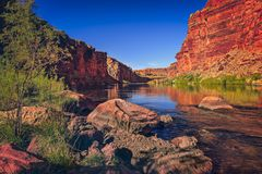 Canyon di marmo, AZ Fotografia Stock