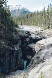 Canyon di Mistaya fotografia stock