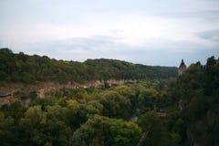 Canyon di Nistro Fotografia Stock