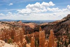 Canyon di paese delle fate Fotografie Stock