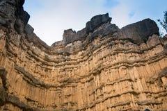 Canyon di Pha Chor nel parco nazionale di Maewang fotografie stock libere da diritti
