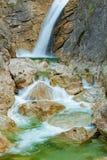 Canyon di Poellat Fotografia Stock