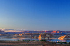 Canyon di Powell Immagini Stock Libere da Diritti