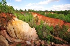 Canyon di provvidenza Fotografia Stock Libera da Diritti