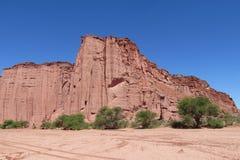 Canyon di rosso di Talampaya Immagine Stock Libera da Diritti