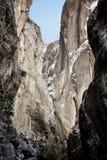 Canyon di Saklikent in Turchia Fotografia Stock Libera da Diritti