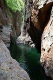 Canyon di Somoto fotografia stock libera da diritti