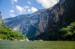 Canyon di Sumidero nel Messico Immagine Stock Libera da Diritti