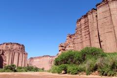 Canyon di Talampaya Immagine Stock Libera da Diritti