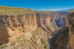 Canyon di Torotoro Fotografie Stock
