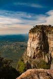 Canyon di Tundavala, Angola Fotografia Stock