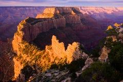 Canyon di vista reale del capo grande Fotografie Stock Libere da Diritti