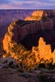 Canyon di vista reale del capo grande Fotografia Stock Libera da Diritti
