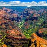 Canyon di Waimea Fotografia Stock Libera da Diritti