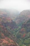 Canyon di Waimea Immagini Stock Libere da Diritti