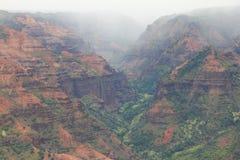 Canyon di Waimea Immagine Stock Libera da Diritti