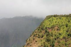Canyon di Waimea Fotografie Stock Libere da Diritti