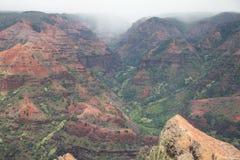 Canyon di Waimea Fotografie Stock