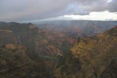 Canyon di Waimea Immagine Stock