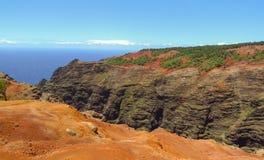 Canyon di Waimea, aka Grand Canyon del Pacifico, Kauai, Hawai, U.S.A. immagini stock