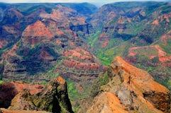 Canyon di Waimea in Hawai Fotografia Stock Libera da Diritti