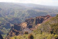 Canyon di Waimea, isola di Kauai, Hawai Fotografia Stock Libera da Diritti
