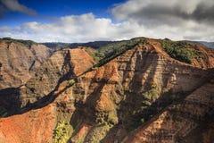 Canyon di Waimea, Kauai Fotografia Stock
