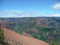 Canyon di Waimea in Kauai Fotografia Stock Libera da Diritti