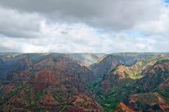 Canyon di Waimea - Kauai, Hawai Fotografie Stock Libere da Diritti