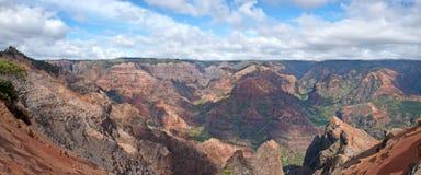 Canyon di Waimea - Kauai, Hawai Fotografia Stock Libera da Diritti