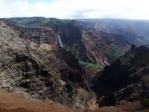 Canyon di Waimea, Kauai, Hawai Immagine Stock