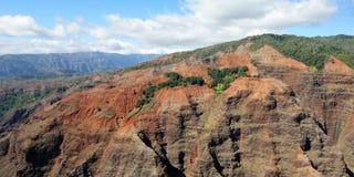Canyon di Waimea - Kauai, Hawai, S.U.A. Fotografia Stock