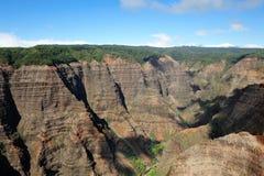 Canyon di Waimea - Kauai, Hawai, S.U.A. Immagine Stock