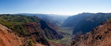 Canyon di Waimea su Kauai Immagine Stock Libera da Diritti
