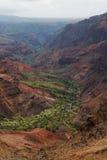 Canyon di Waimea su Kauai, Hawai Immagini Stock Libere da Diritti