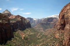 Canyon di Zion Fotografie Stock Libere da Diritti