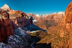 Canyon di Zion fotografia stock libera da diritti