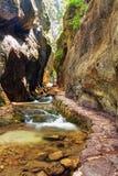 Canyon - diery de janosikove en Slovaquie photos stock