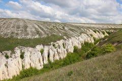 The Canyon in Divnogore near Voronezh city, Russia Stock Photos