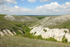 The Canyon in Divnogore near Voronezh city, Russia Stock Photography