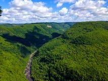 Canyon do Parque da Ferradura Royalty Free Stock Photo