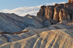 Canyon dorato, Death Valley Fotografia Stock