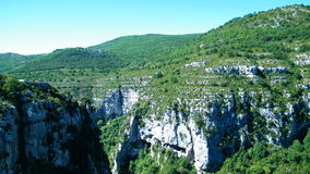 Canyon du Verdon Stockfoto