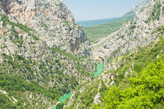 Canyon du Verdon Stock Photography