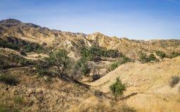 Canyon e colline di California del sud Fotografia Stock Libera da Diritti