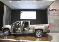 Canyon 44 eccellenti Flowmaster SUV di GMC all'esposizione automatica 2014 dell'internazionale di New York Fotografia Stock Libera da Diritti