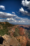 Canyon edge Stock Images